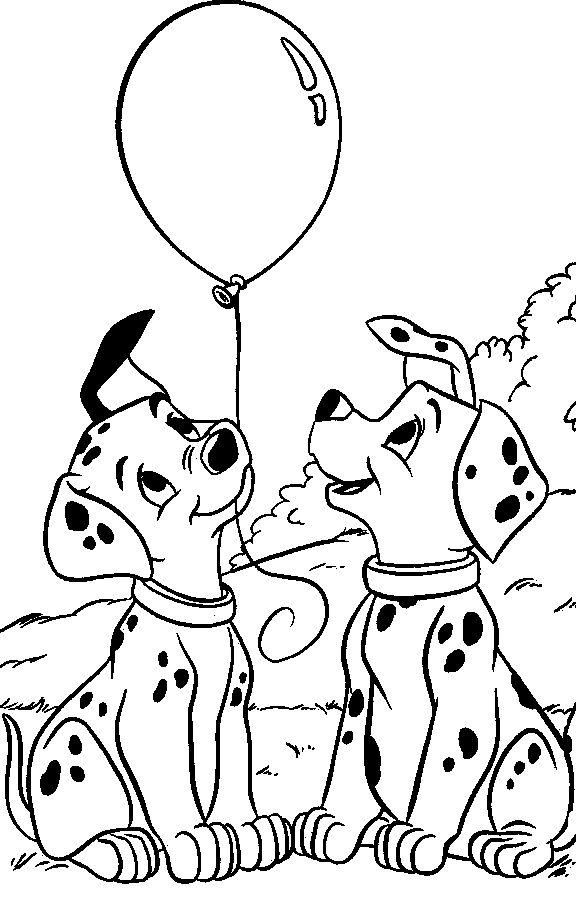 Dessins à colorier 101 dalmatiens Coloriages pour enfants