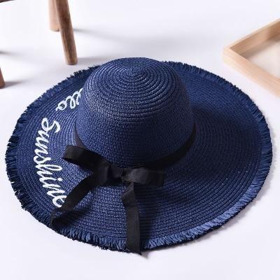 Hello Sunshine Hat | Bambushi – BEACH HATS
