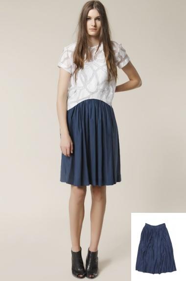 Fleur Wood Skirt