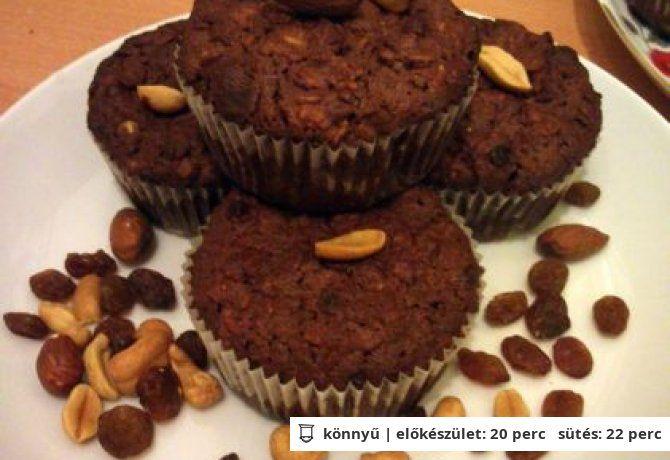 Almás-zabpelyhes fitnesz muffin | NOSALTY – receptek képekkel