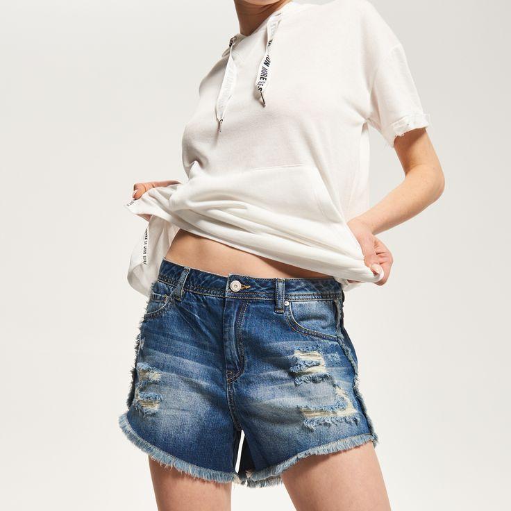 Jeansowe szorty, RESERVED, RD136-59J