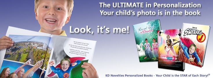 Personalized Childrens Books | Personalized Photo Books | Personalized Kids Books http://www.kdnovelties.com/photo-books/cat_26.html #PersonalizedBooks #KidsBooks #PersonalizedGifts