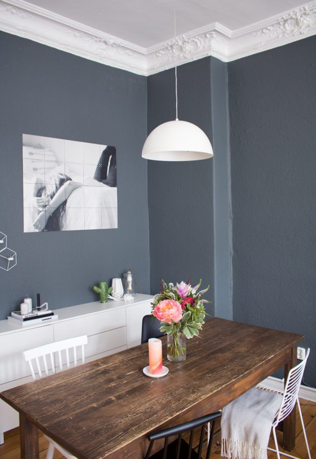 Die besten 25+ Wohnzimmer farbe Ideen auf Pinterest Wandfarben - esszimmer graue wand