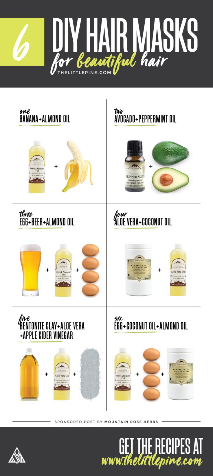 6 DIY Hair Masks Avocado hair mask, Avocado hair, Diy