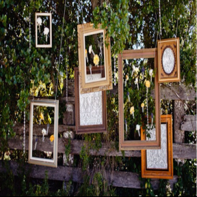 22 best wedding decorations images on pinterest weddings dream tree decor for outdoor wedding junglespirit Image collections