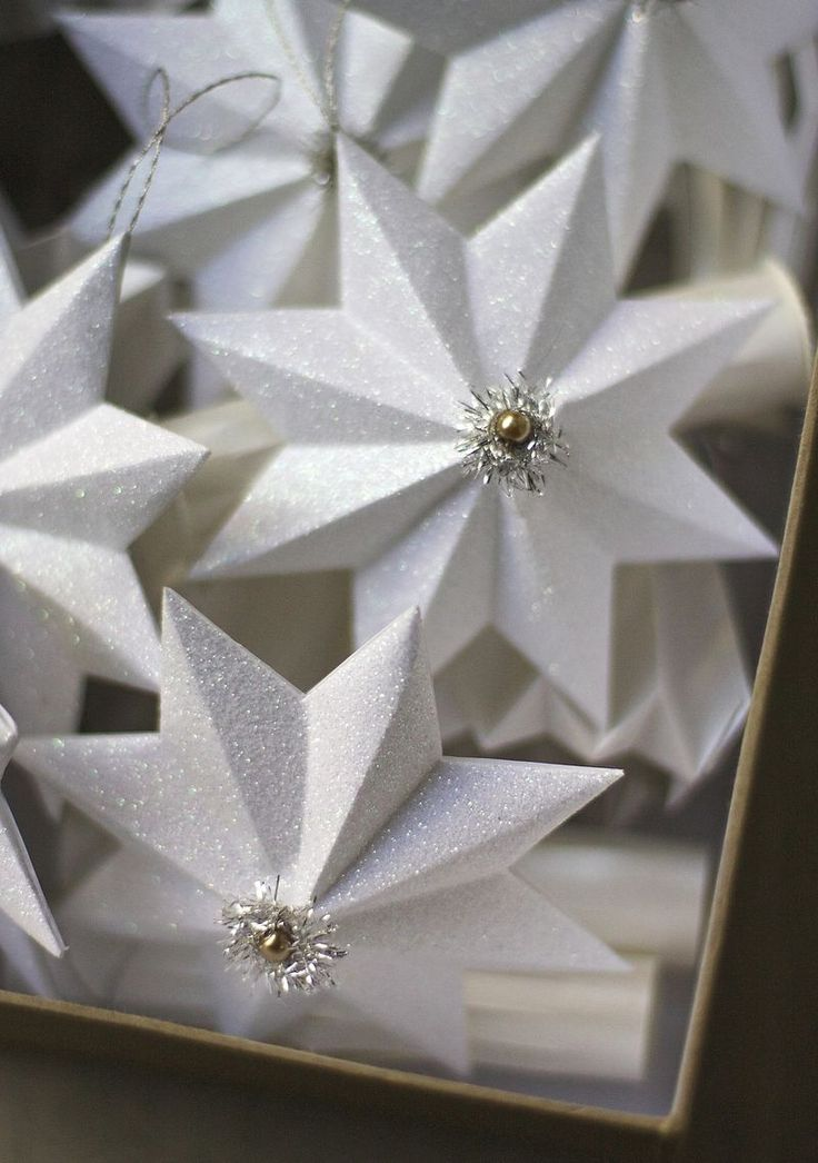 Paper Star Ornaments - Urban Comfort