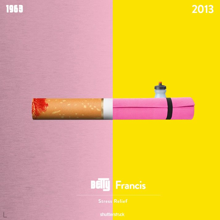 Madmen then and now.
