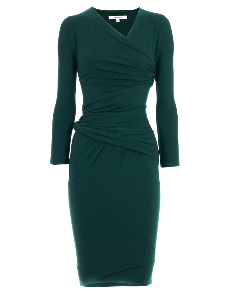 Carven Dark Green Dress Mara  WHEN IM A BUSINESS WOMAN THIS WILL BE MINE