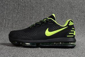 uk availability b5254 fa0f5 Mens Shoes Nike Air Max Flair KPU 2019 Black Green