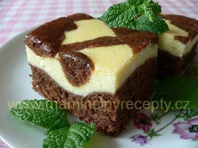 fešácký tvarohový koláč