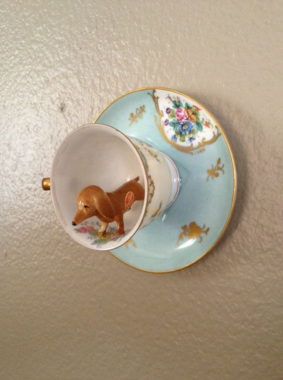 {teacup doxie} cute idea!