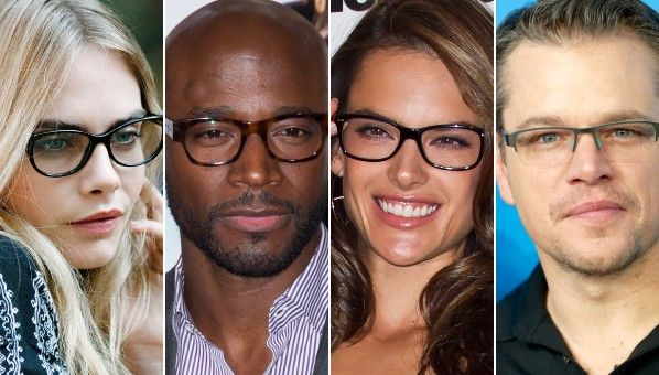 Celebrities Looking Good In Glasses | Celebrities Wearing Glasses ...