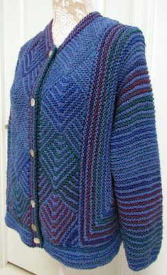 Jacket for Laura B.    Yes, the summer is over and it is time to get the yarn out. It was a year ago September that I began taking or...