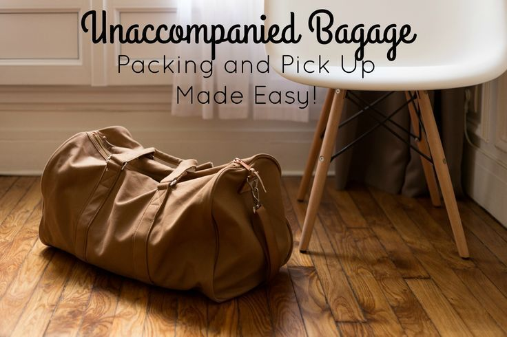 Everything every military spouse needs to know  about packing unaccompanied baggage. Pack right for your military move! (scheduled via http://www.tailwindapp.com?utm_source=pinterest&utm_medium=twpin)
