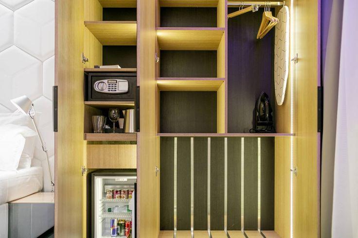 U nás najdete vše potřebné - minibar, trezor, Nespresso či žehličku a žehlící potřeby. #pytloun #hotel #liberec
