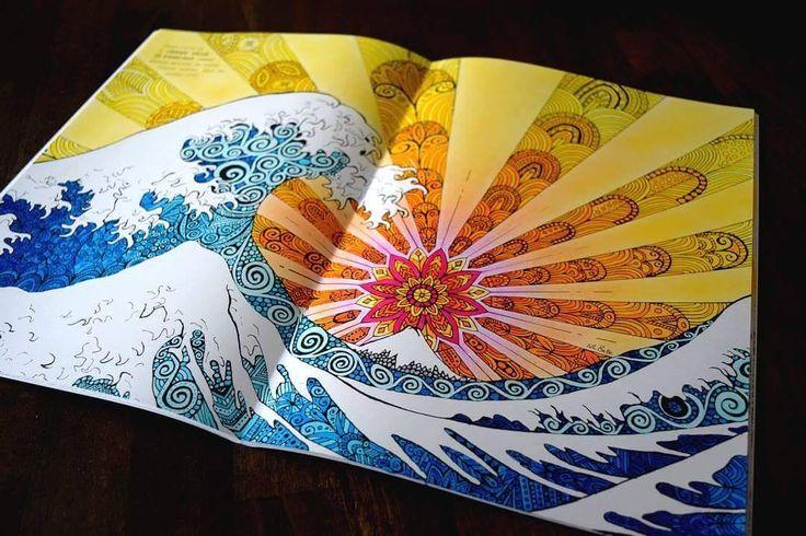 Art&Be #coloringbook #artetbe #coloriage #arttherapie #feutre #tombow #zen #painting #vague #wave #adultcoloringbook  Follow me on : Facebook : http://www.facebook.com/sundaymorningcreationscolorie Youtube : http://www.youtube.com/c/sundaymorningcreations
