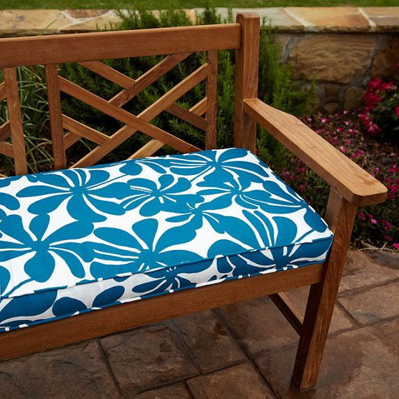 CHOOSE YOUR FABRIC   Premier Prints  Bench Cushion by LatelyMod