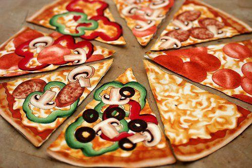 Pizza - nažehlovací obrázky