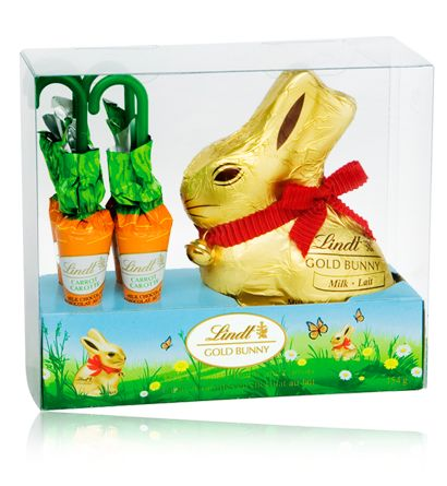 14 best lindt chocolate images on pinterest chocolates bunnies picture of bunny with carrots easter gift negle Image collections