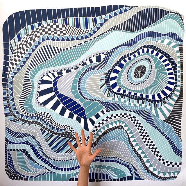 Wishing everyone a very Happy Mother's Day!  Melbourne artist Noirin van de Berg @noirin163 made her mum a Paper Mosaic with our paper and card, we would love to see what other people made their mum this year! #paperart #paper #art #craft #mosaic #riotartandcraft #handmade #mothersday