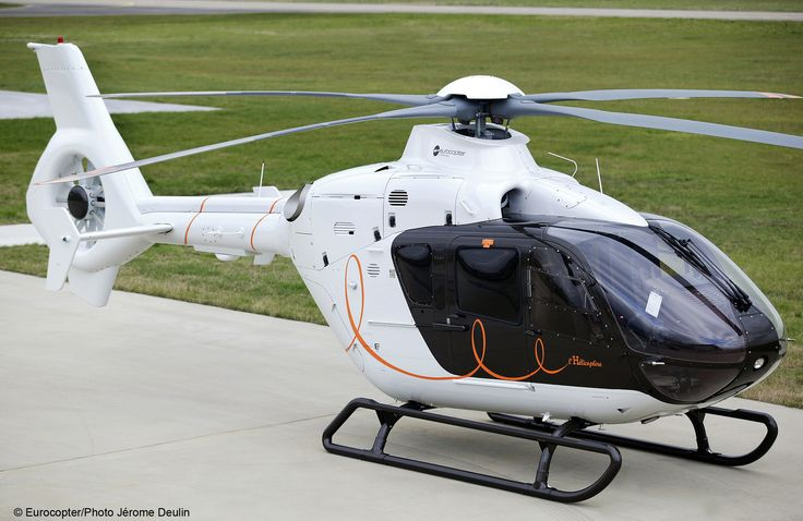 Charlie Tango. Eurocopter 135