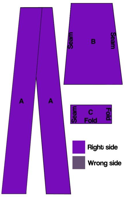 maxi infinity dress diagram