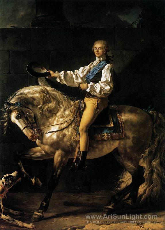 Jacques-Louis David (French 1748–1825) [Neoclassicism] Portrait of Count Stanislas Potocki, 1780. ۞۞۞۞۞۞۞۞۞۞۞۞۞۞ Gaby-Féerie : ses bijoux à thèmes ➜ http://www.alittlemarket.com/boutique/gaby_feerie-132444.html ۞۞۞۞۞۞۞۞۞۞۞۞۞۞