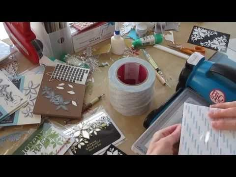 Pam's technique for adhering intricate Memory Box Dies…