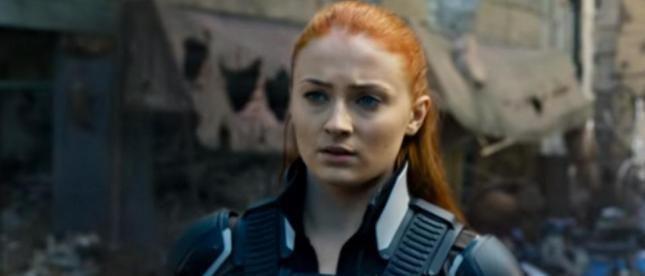 Sophie Turner como Jean Grey  en x-men-apocalypse