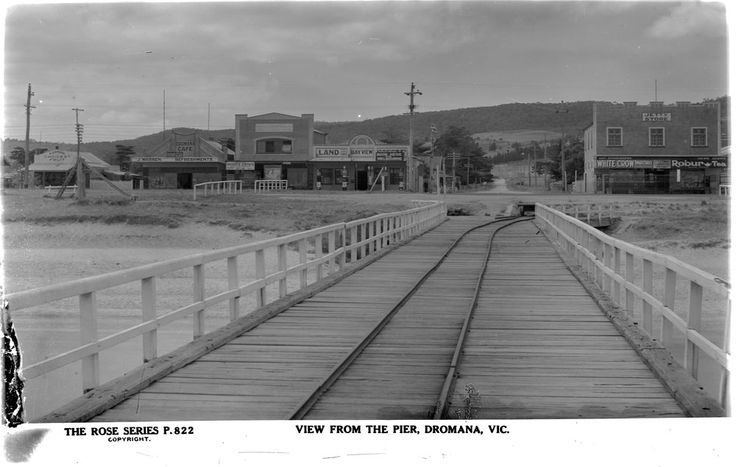 Dromana Pier and Tramway, towards Dromana