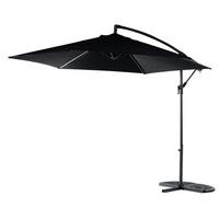 Blooma Malta Overhanging Parasol Black