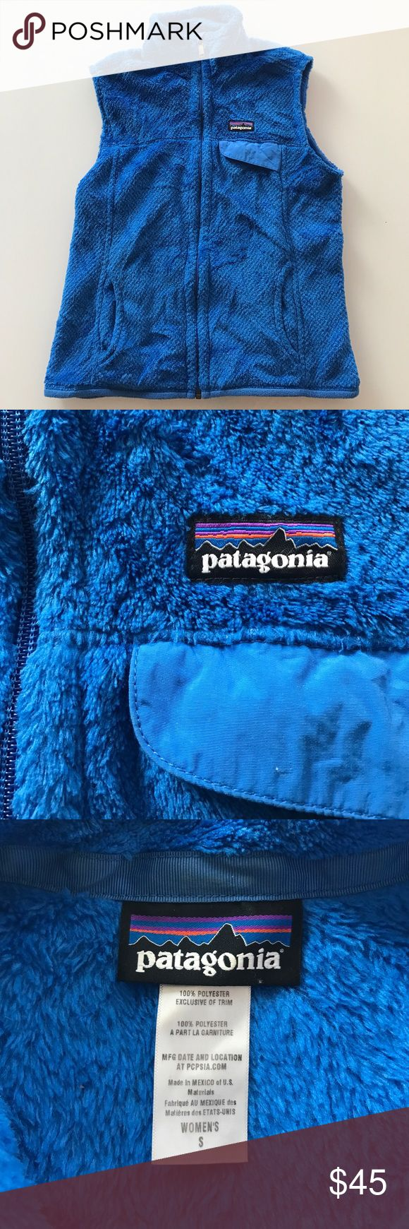 Blue women's Patagonia fleece vest Blue women's Patagonia fleece vest Patagonia Jackets & Coats Vests