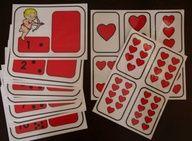 La St-Valentin : accessoires pour activités préscolaires - Les éditions Boîte à Surprises