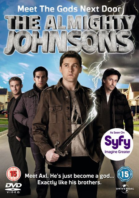 The Almighty Johnsons - one of the guys looks like Iolaus from Young Hercules