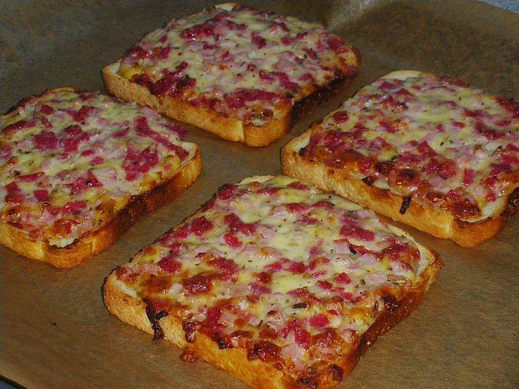 Pizzabrötchen (Rezept mit Bild) von Ela* | Chefkoch.de