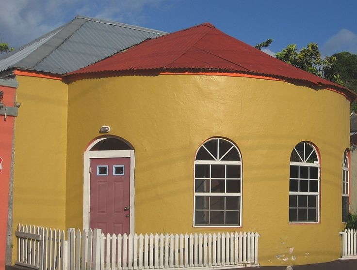 Round House, #Barbados: Outstanding architecture and amazing tropical colours!