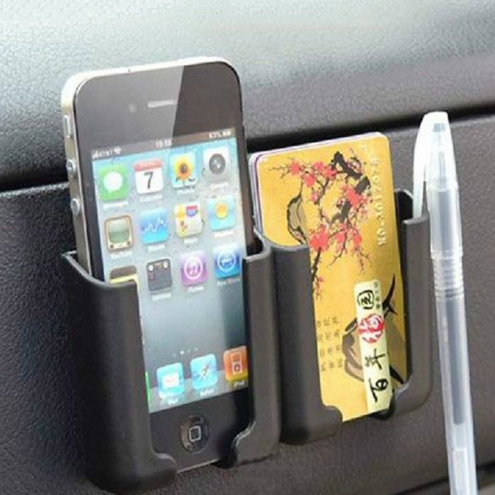 Car Universal Adhesive Storage Multi Use Holder For Smartphone GPS PDA