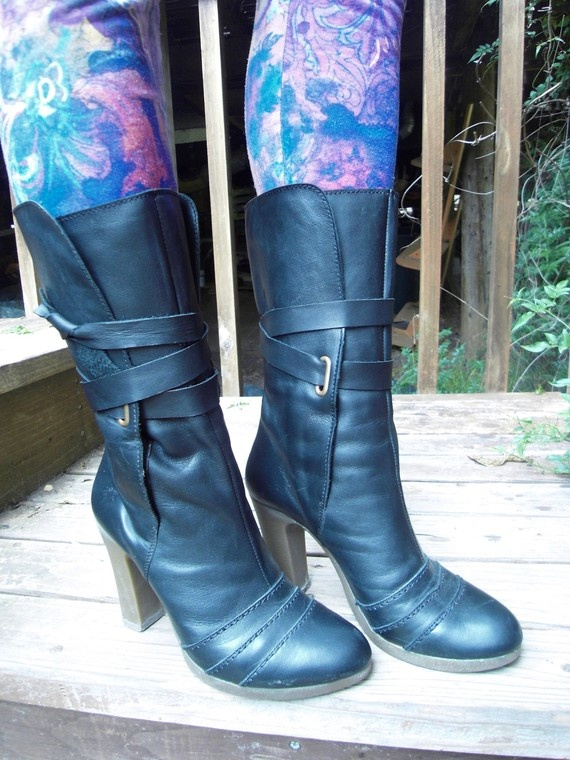 SALE Fly london boots Handmade in Portugal by Caitlinmagnolia, $90.00
