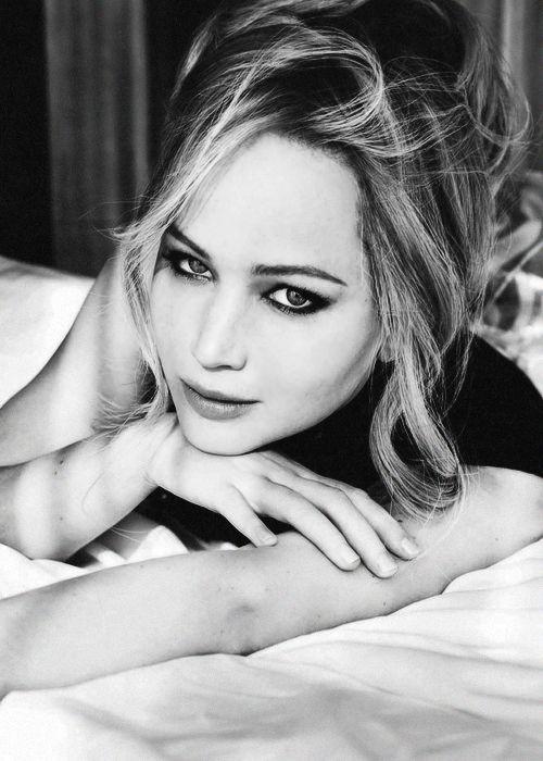 Jennifer Lawrence photographed by Ellen Von Unwerth for Vanity Fair