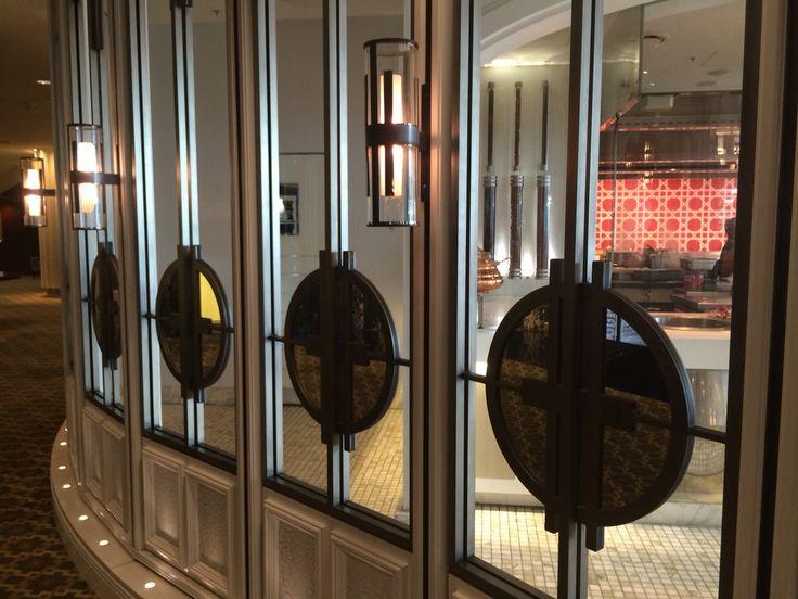 Conservatory restaurant  Crown Melbourne