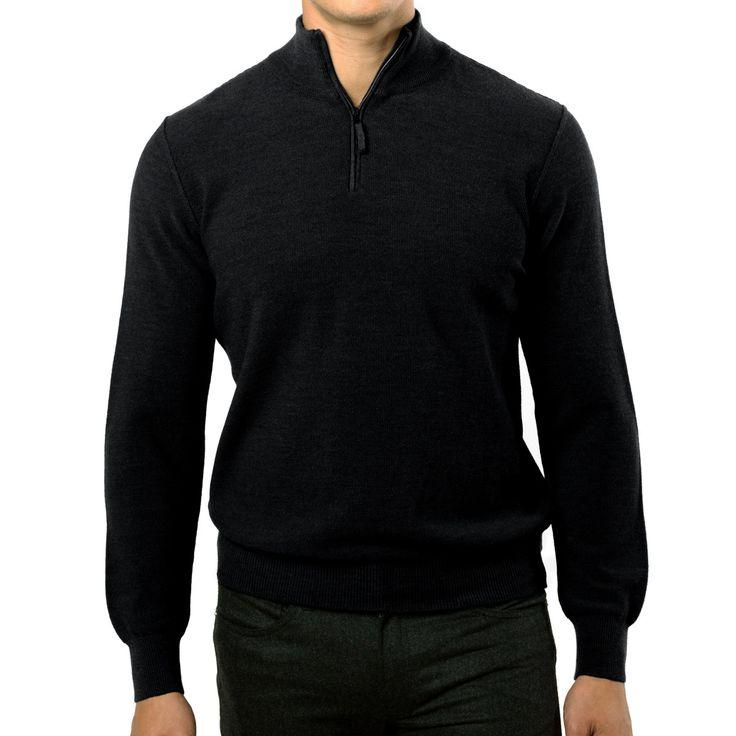 https://www.paulstuart.com/wool-rice-stitch-half-zip-sweater.html