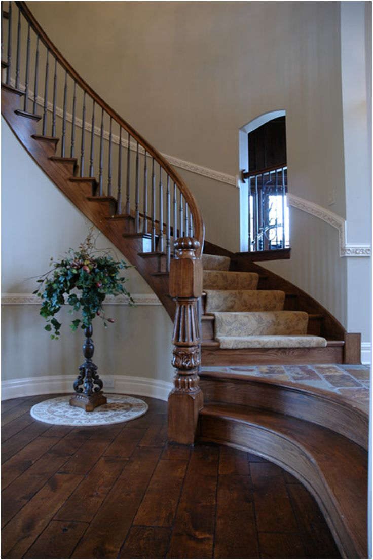 195 best entry foyer stairs french country for Arched staircase