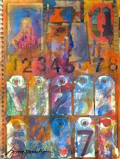 Lynne Perrella http://www.lkperrella.com/   Art journal pages - Pinterest {great examples of art journal pages}   Pinterest   Journal, Mixed media and Journali…