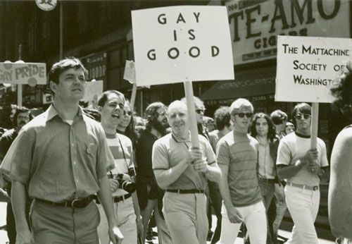 After Stonewall: The First-Ever Pride Parades, In Vintage Photos   thanks, Brenda Howard http://substantial.com/events/gay-pride-month-2013-06-01-2013