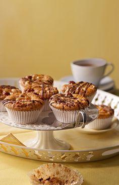 Tiroler Nusskuchen - als Muffin oder großer Kuchen, immer super lecker