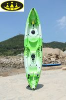 Source hot selling LLDPE three person sit on top fishing kayak(2adult+1children) double kayak on m.alibaba.com
