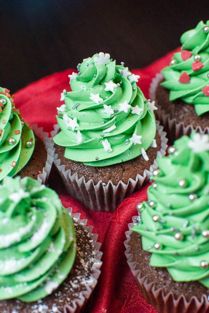 Ber ideen zu weihnachtsbaum cupcakes auf pinterest for Pinterest weihnachtsbaum