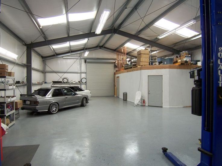 Commercial Steel Garages Inside : Metal building shop idea pinterest shops