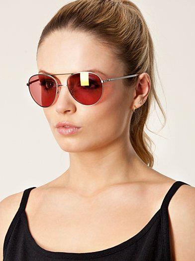 Fly Sunglasses - Cheap Monday - Silver - Solglasögon - Accessoarer - Kvinna - Nelly.com