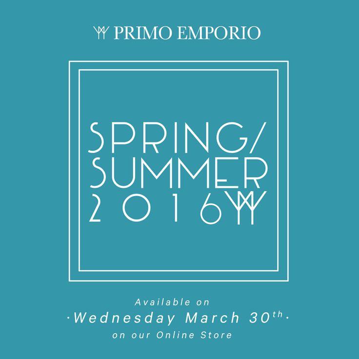 • -5 h to Shop OnLine •   #primoemporio #shop #shoponline #ecommerce #ss16 #menswear #men #spring #summer #store #boutique #brand #ootn #ootd